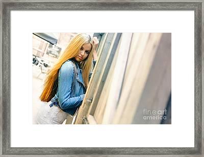 Liuda5 Framed Print by Yhun Suarez