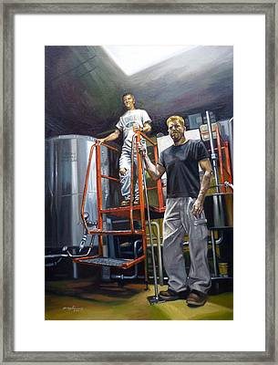 Live Oak Brewing Company Austin Texas Framed Print by Gregg Hinlicky