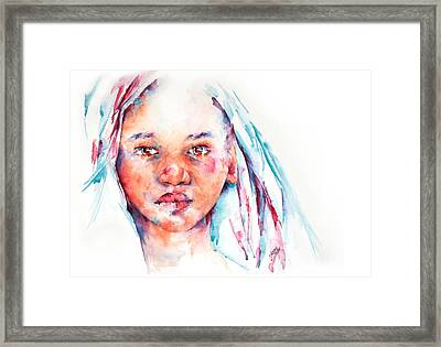 Live To Dream ... Children Of The World Framed Print by Stephie Butler