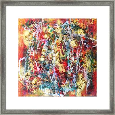 Live To Give Framed Print