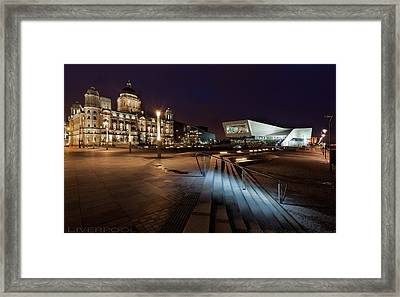 Liverpool - The Old And The New  Framed Print