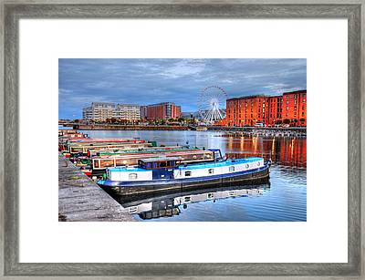 Liverpool England Framed Print by Barry R Jones Jr