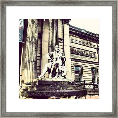 #liverpool #museum #museums #guy #stons Framed Print