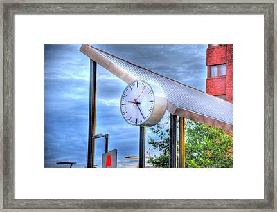Liverpool Time Framed Print by Barry R Jones Jr