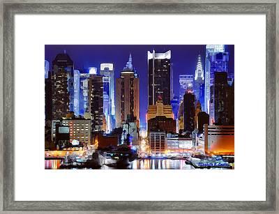 Living For The City Framed Print by Elizabeth Coats