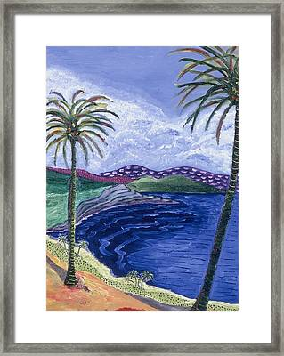 Living In Paradise Framed Print