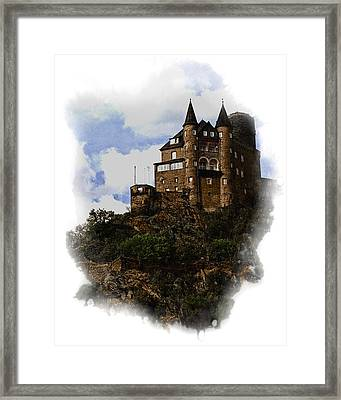 Living On The Rhine Framed Print by Cecil Fuselier