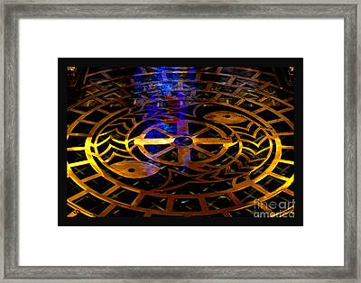 Living Waters Of St. Francis Framed Print