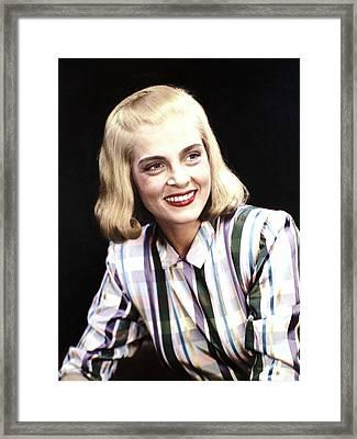 Lizabeth Scott, Ca 1950s Framed Print