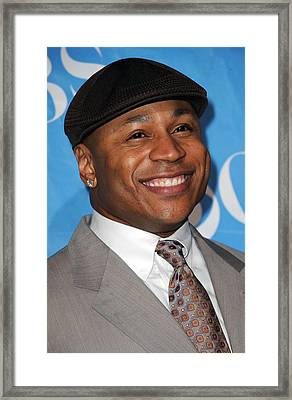 Ll Cool J At Arrivals For Cbs Tv Framed Print