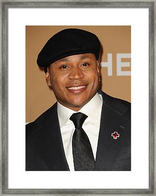 Ll Cool J At Arrivals For Cnn Hereoes Framed Print by Everett