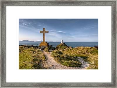 Llanddwyn Island Framed Print by Adrian Evans