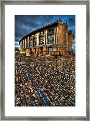 Lloyds Building Framed Print by Adrian Evans