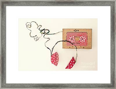 Lo-fi Framed Print by Catherine MacBride