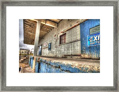 Loading Dock Framed Print