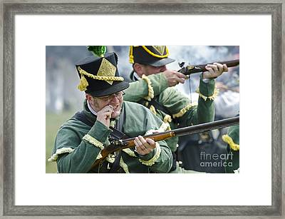 Loading Musket Framed Print by JT Lewis