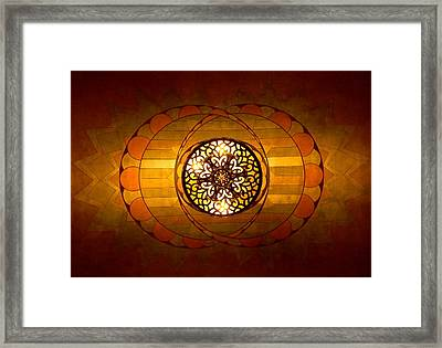 Lobby Lighting Framed Print by Accent on Photography