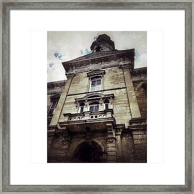 Local Courthouse Framed Print