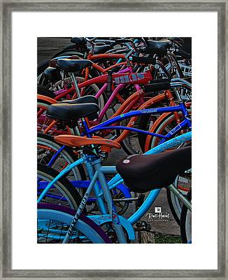 Local Transportation Framed Print by Russ Harris