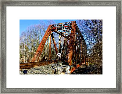 Location 19  Framed Print