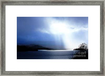 Loch Awe - Hdr Framed Print by David Grant