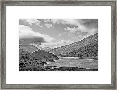 Loch Levan Framed Print by Chris Thaxter