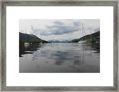 Framed Print featuring the photograph Loch Leven - Glencoe by David Grant