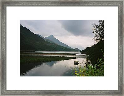 Loch Leven Scotland Framed Print