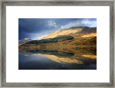 Framed Print featuring the photograph Loch Lobhair, Scotland by John Short
