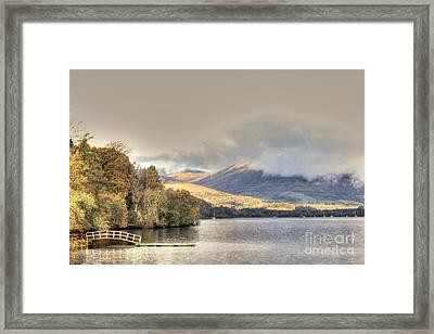 Loch Lomond Framed Print