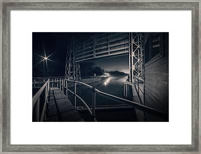 Lock 23 Framed Print