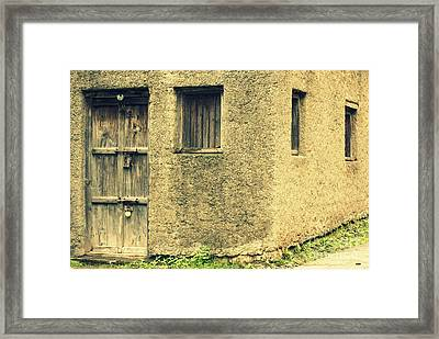 Locked And Abandoned - 1 Framed Print