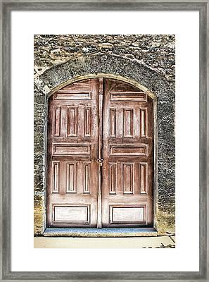 Locked Framed Print by Tom Prendergast