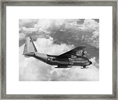 Lockheed C-130 Hercules Framed Print by Science Source