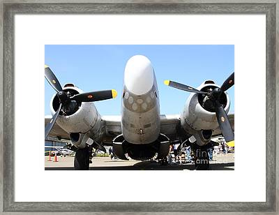 Lockheed Pv-2 Harpoon Military Aircraft . 7d15824 Framed Print by Wingsdomain Art and Photography