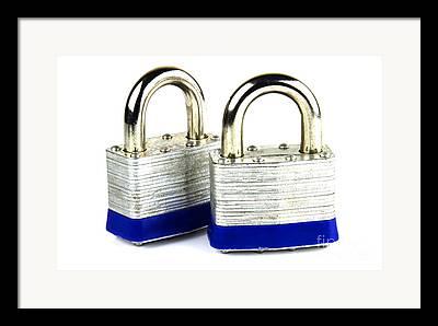 Lock Framed Prints