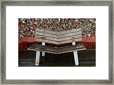 Framed Print featuring the photograph Locks Of Love 2 by Kume Bryant