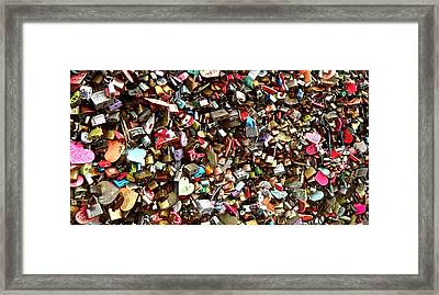 Framed Print featuring the photograph Locks Of Love by Kume Bryant