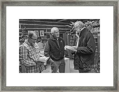 Log Cabin Library 6 Framed Print by Jim Wright