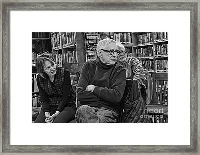 Log Cabin Library 8 Framed Print by Jim Wright