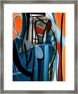 Logical Concept Framed Print by Fabrice Plas