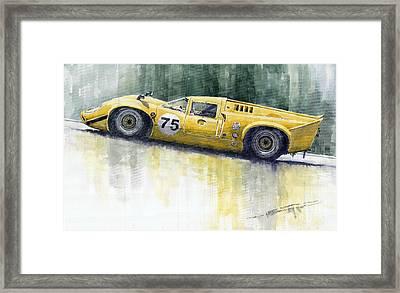 Lola T70 Framed Print by Yuriy  Shevchuk