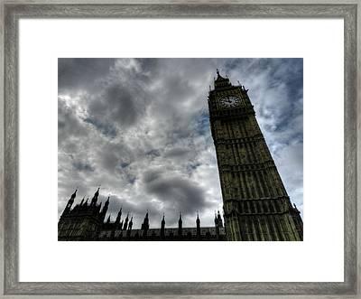 London 007 Framed Print