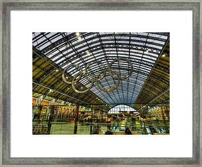 London 014 Framed Print by Lance Vaughn