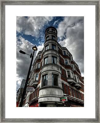 London 029 Framed Print by Lance Vaughn
