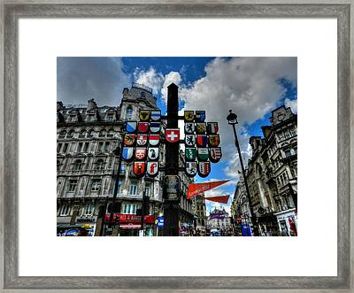 London 036 Framed Print by Lance Vaughn