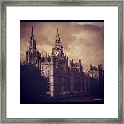 #london 05.10.1605 Framed Print