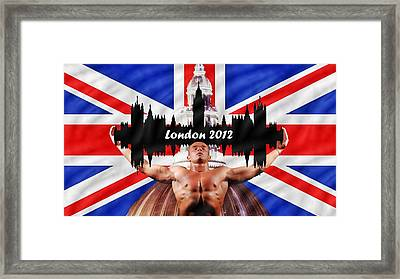 London 2012 Framed Print