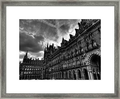 London 58 Framed Print by Lance Vaughn
