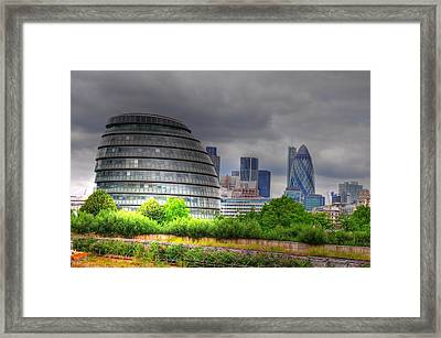 London Art Framed Print by Barry R Jones Jr